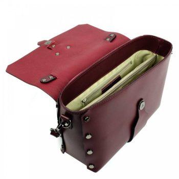 Bordeaux Mini Leather Purse - Aurora6