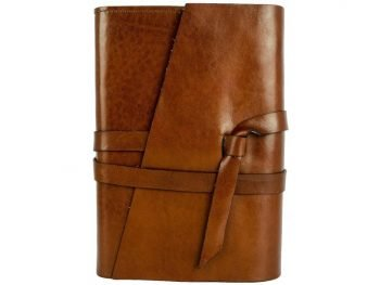 Brown Ageless Leather Journal - I Love You