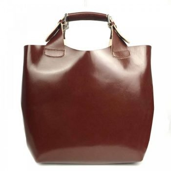 Brown Elegant Leather Purse For Women - Felisa