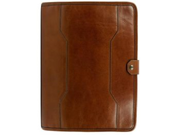 Brown Full Grain Leather Organizer - The Call of the Wild2