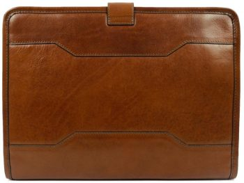 Brown Full Grain Leather Organizer - The Call of the Wild3