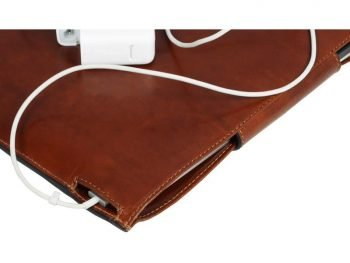 Brown Real Leather Laptop Sleeve7