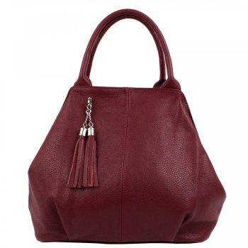 Cherry Genuine Leather Purse For Women - Imelda