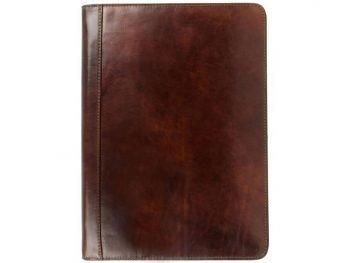 Dark Brown Classic Leather Document Folder - Candide3