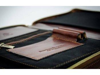 Dark Brown Classic Leather Document Folder - Candide6
