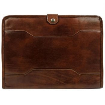 Dark Brown Full Grain Leather Organizer – The Call of the Wild