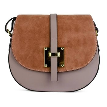 Elegant Brown Shoulder Handbag - Marta