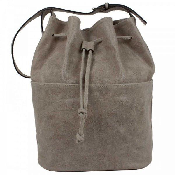 Gray Aged Leather Purse - Waomi