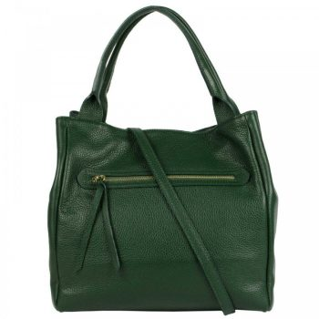 Green Leather Purse For Women - Alvise