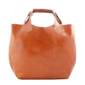 Light Brown Elegant Leather Purse For Women - Felisa