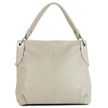 Lightly Rose Natural Leather Tote Bag For Women - Ostia
