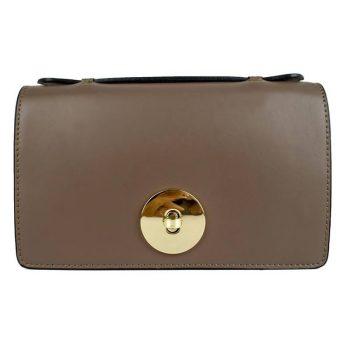 Petite Sand Brown Handbag - Rimini