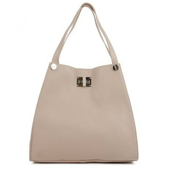 Rose Leather Tote Bag For Women - Delanna