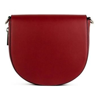 Small Red Over The Shoulder Handbag - Lorene