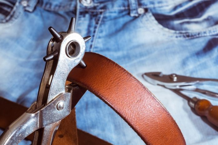 How to Punch a Hole in a Belt