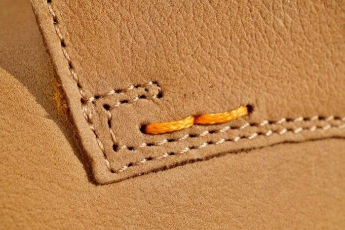 How to Stitch Leather