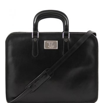 ALBA Women's Leather briefcase 1 compartment