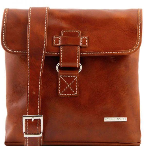 ANDREA Leather Crossbody Bag