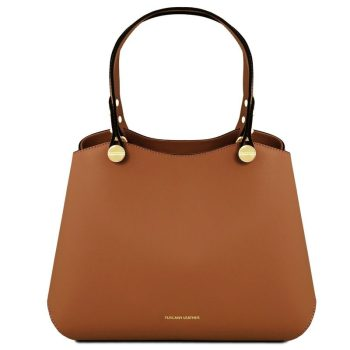 ANNA Leather handbag