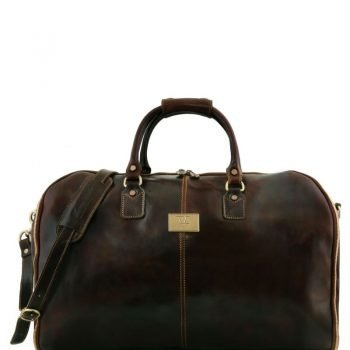 ANTIGUA Travel leather duffle - Garment bag