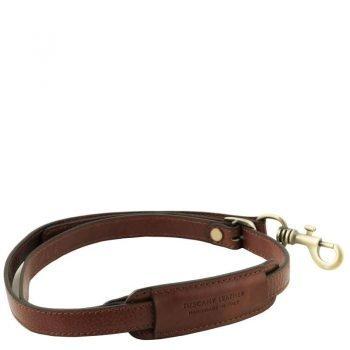 Adjustable briefcases leather shoulder strap