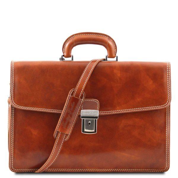 Amalfi Leather Briefcase 1 Compartment