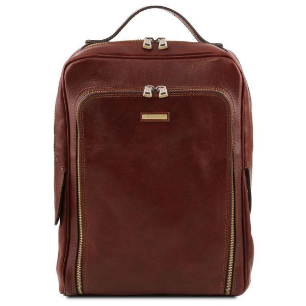BANGKOK Leather laptop backpack