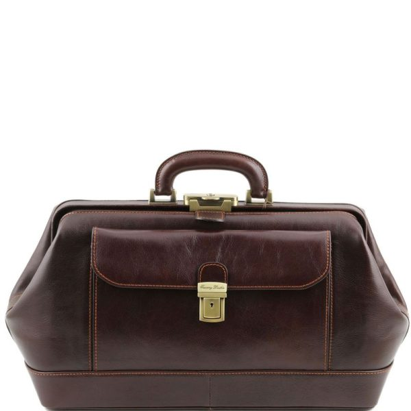 BERNINI Exclusive leather doctor bag