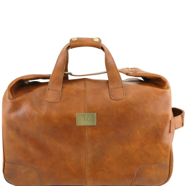 Barbados Trolley Leather Bag