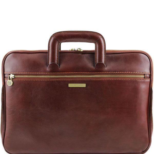 CASERTA Document Leather briefcase
