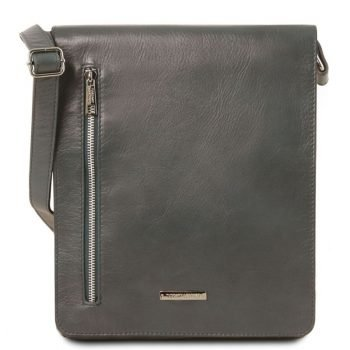 CESARE Soft leather shoulder bag