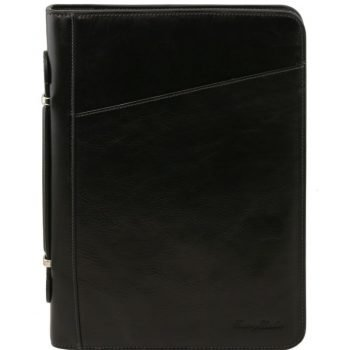 CLAUDIO Exclusive leather document case with handle