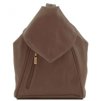 DELHI Leather backpack