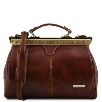 Doctor Gladstone Leather Bag - Michelangelo