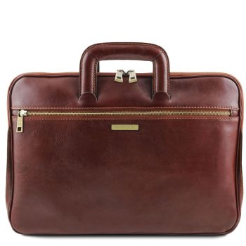 Document Leather Briefcase - Caserta