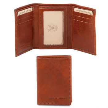 Exclusive 3 Fold Leather Wallet - Trua