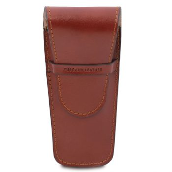 Exclusive Leather 2 Slots Pen and Watch Holder - Boulc