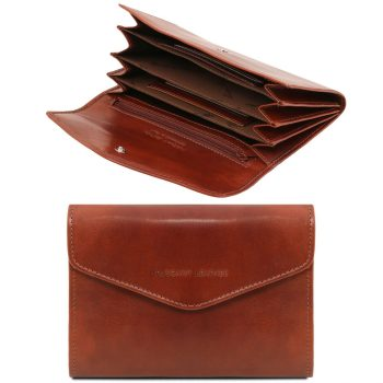 Exclusive Leather Accordion Wallet for Women - Alissas