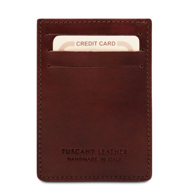 Exclusive Leather Credit - Business Card Holder - Risoul