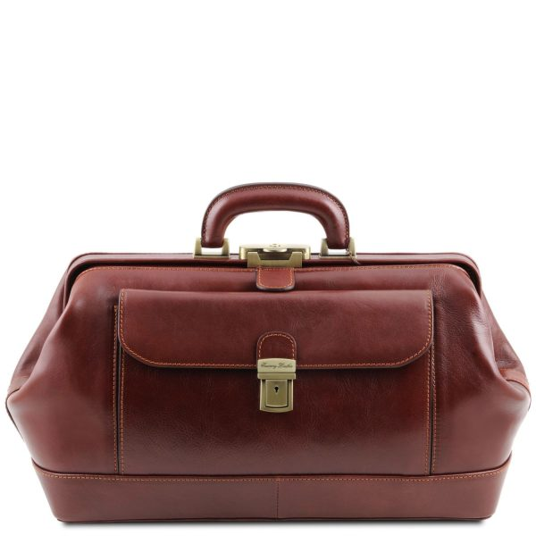Exclusive Leather Doctor Bag - Bernini