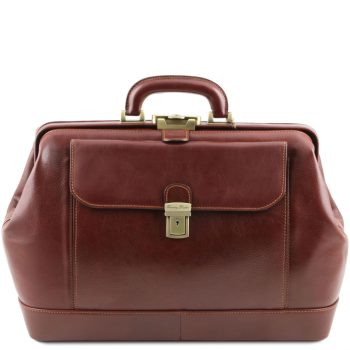 Exclusive Leather Doctor Bag - Leonardo