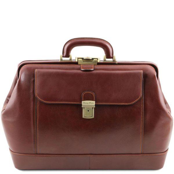 Exclusive Leather Doctor Bag - Leonardo