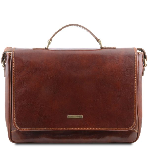 Exclusive Leather Laptop Case - Padova
