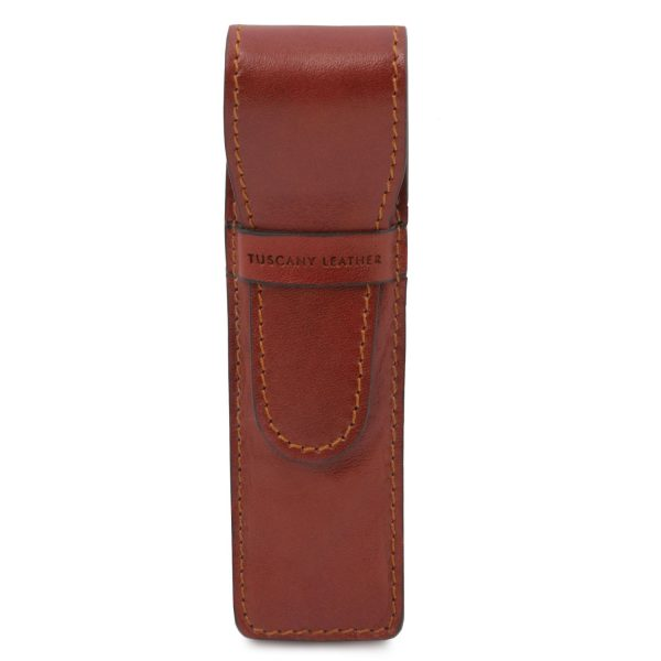 Exclusive Leather Pen Holder - Fuveau