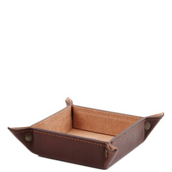Exclusive Leather Valet Tray - Small Size