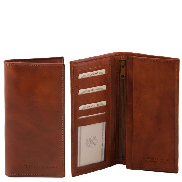 Exclusive Vertical 2 Fold Leather Wallet for Men - Crupies