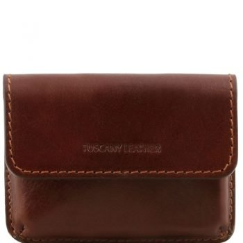 Exclusive leather business cards holder