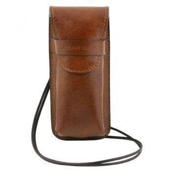 Exclusive leather eyeglasses - Smartphone - Watch holder