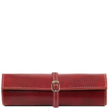 Exclusive leather jewellery case