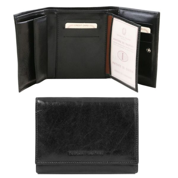 Exclusive leather wallet for women
